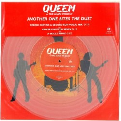 Queen Vs The Miami Project ‎– Another One Bites The Dust - Maxi Vinyl - Coloured Clear