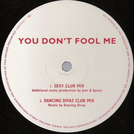 Queen ‎– You Don't Fool Me - Maxi Vinyl 12 inches Promo