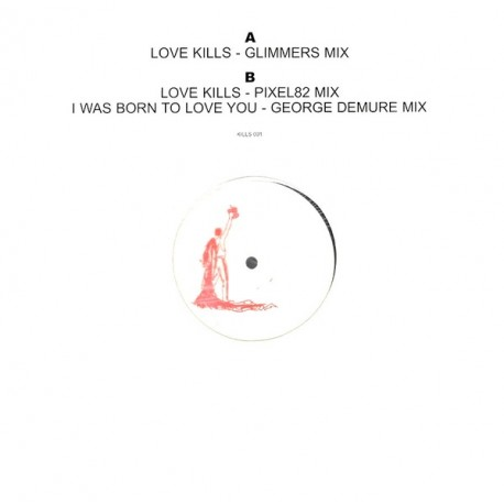 Freddie Mercury ‎(Queen) – Love Kills - I Was Born To Love You - Maxi Vinyl