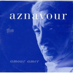 Charles Aznavour - Amour Amer - CD Single Promo