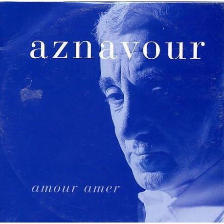 Charles Aznavour - Amour Amer - CD Single Promo