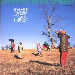 Arrested Development - 3 years, 5 months and 2 days in the life - Japan Promo Album CD