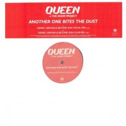 Queen Vs The Miami Project ‎– Another One Bites The Dust - Maxi Vinyl 12 inches Promo