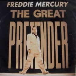 Freddie Mercury( Queen)  ‎– The Great Pretender - Maxi Single 12 inches