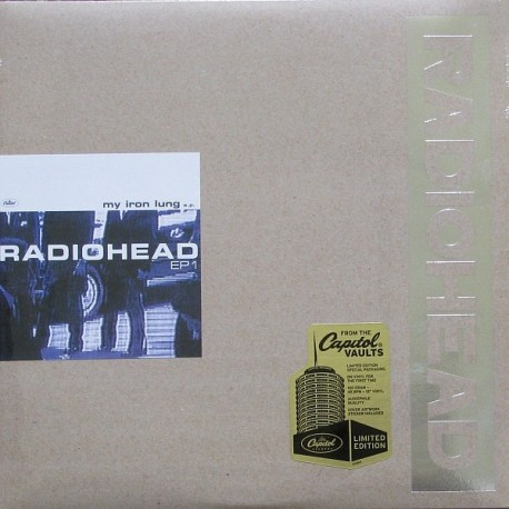 Radiohead – My Iron Lung - Maxi Vinyl 12 inches - Limited Edition