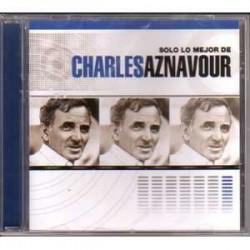 Aznavour Charles - Solo Lo Mejor - Argentina CD Album