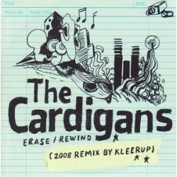 The Cardigans ‎– Erase/Rewind (2008 Remix By Kleerup) - CDr Single Promo