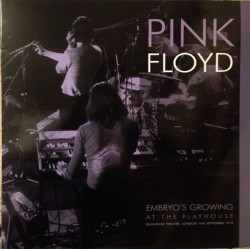 Pink Floyd ‎– Embryo's Growing At The Playhouse - LP Vinyl