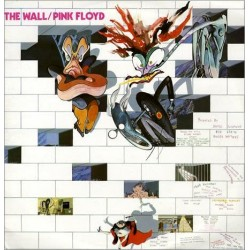Pink Floyd ‎– The Wall - Coloured Red - Colombia Pressing