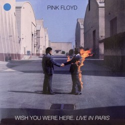 Pink Floyd ‎– Wish You Were Here Live In Paris - Coloured - LP Vinyl