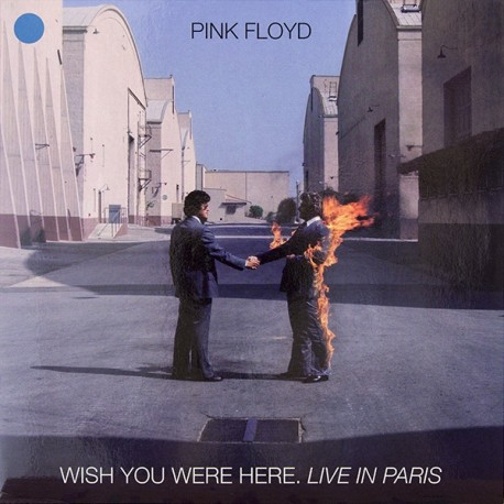 Pink Floyd – Wish You Were Here Live In Paris - Coloured Clear - LP Vinyl