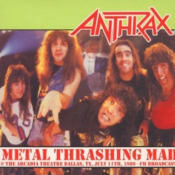 Anthrax ‎– Metal Thrashing Mad - Limited Edition - LP Vinyl