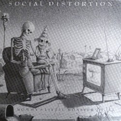 Social Distortion ‎– Mommy's Little Monster - Coloured Red - LP Vinyl