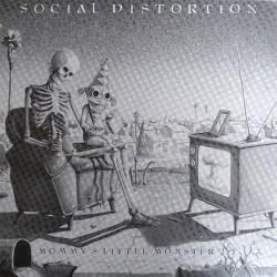 Social Distortion – Mommy's Little Monster - Coloured Red - LP Vinyl