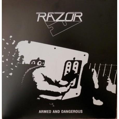 Razor - Armed And Dangerous - Mini LP Vinyl