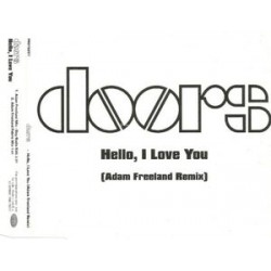 The Doors ‎– Hello, I Love You (Adam Freeland Remix) - CD Maxi Single Promo