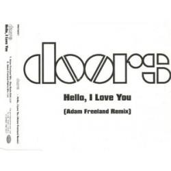 The Doors – Hello, I Love You (Adam Freeland Remix) - CD Maxi Single Promo