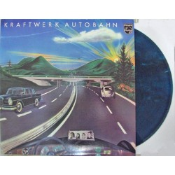 Kraftwerk ‎– Autobahn - LP Vinyl - Coloured Green Marbled