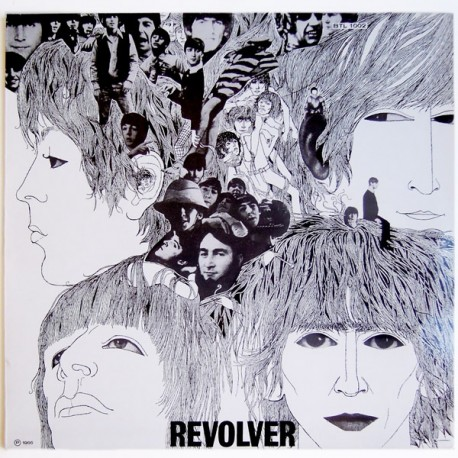 The Beatles – Revolver- Coloured White - LP Vinyl - Mono Version