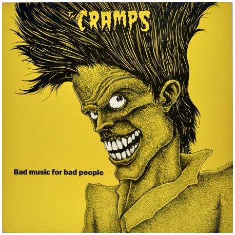 The Cramps ‎– Bad Music For Bad People - Coloured Yellow Translucid - LP Vinyl