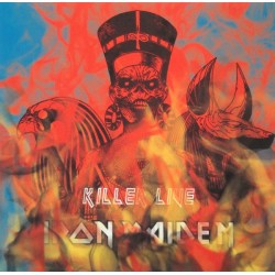 Iron Maiden ‎– Killer Live - LP Vinyl Live USA