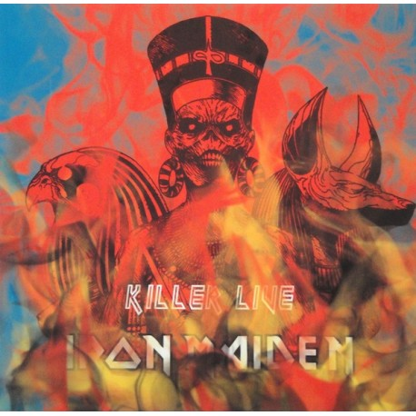 Iron Maiden – Killer Live - LP Vinyl Live USA