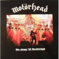 Motörhead ‎– No Sleep 'Til Rockstage - Coloured Yellow - LP Vinyl