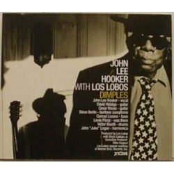 John Lee Hooker With Los Lobos - Dimples - CD Maxi Single Promo