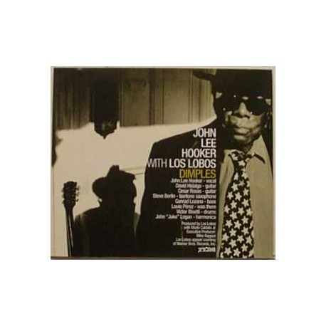 John Lee Hooker With Los Lobos - Dimples - CD Maxi Single Promo