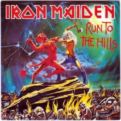 Iron Maiden ‎– Run To The Hills - CD Maxi Single - Enhanced Vidéo