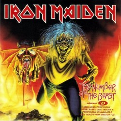 Iron Maiden ‎– The Number Of The Beast - CD Maxi Single - Enhanced
