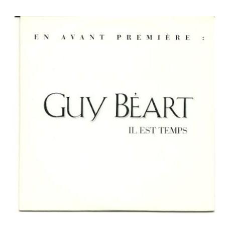 Béart Guy - Il Est Temps - CD Single Promo