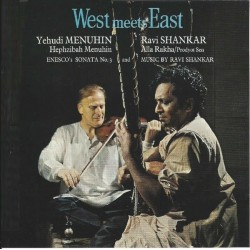 Ravi Shankar And Yehudi Menuhin ‎– West Meets East - LP Vinyl