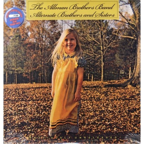 The Allman Brothers Band – Alternate Brothers And Sisters - LP Vinyl - Coloured Blue - Limited Edition