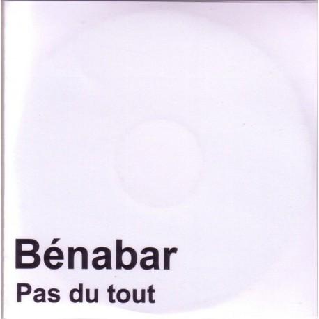 Bénabar - Pas Du Tout - CDr Single Promo