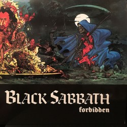 Black Sabbath ‎– Forbidden - LP Vinyl - Coloured Red