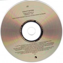 Kraftwerk – Tour De France 03 - CD Single Promo