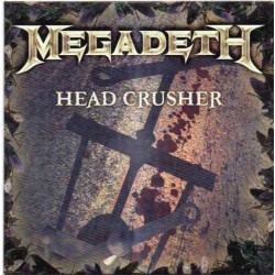 Megadeth ‎– Head Crusher - CD Single Promo