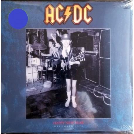 AC/DC – Happy New Year - December 1974 - LP Vinyl - Coloured Blue