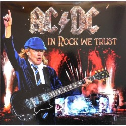 AC/DC ‎– In Rock We Trust - Double LP Vinyl - Coloured Blue