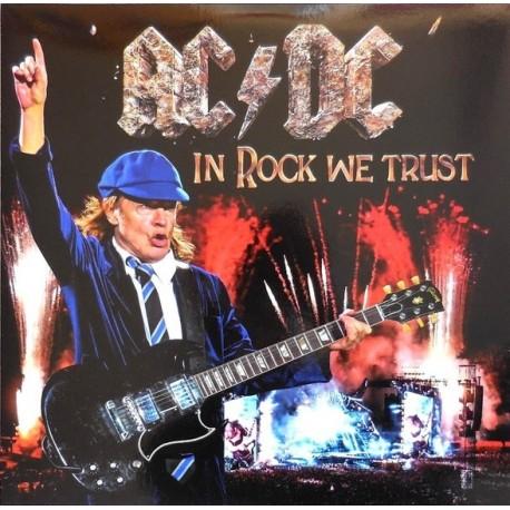 AC/DC – In Rock We Trust - Double LP Vinyl - Coloured Blue