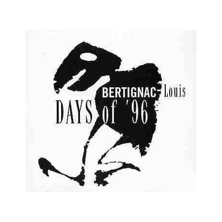 Bertignac Louis - Days of 96 - CD Single Promo