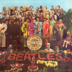 The Beatles ‎– Sgt: Peppers Lonely Hearts Club Band - LP Vinyl - Coloured Marbled Translucid