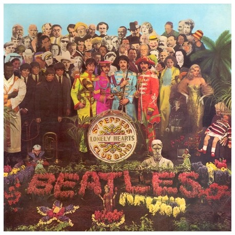 The Beatles – Sgt: Peppers Lonely Hearts Club Band - LP Vinyl - Coloured Marbled Translucid