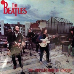 The Beatles ‎– The Complete Rooftop Concert - LP Vinyl - Coloured White