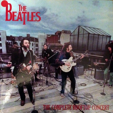 The Beatles – The Complete Rooftop Concert - LP Vinyl - Coloured Clear