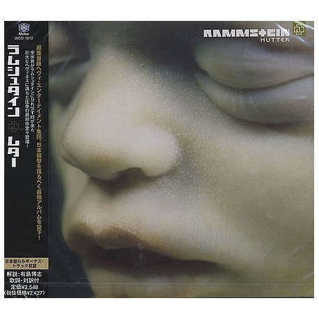 Rammstein – Mutter - LP Vinyl - pochette Gatefold