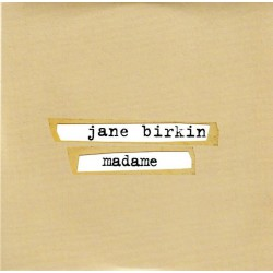 Birkin Jane - Madame - CD Single Promo