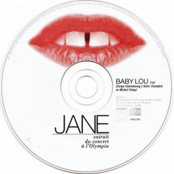 Birkin Jane - Baby Lou - CD Single Promo