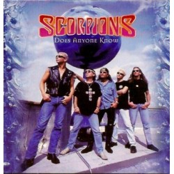 Scorpions ‎– Does Anyone Know - CD Single